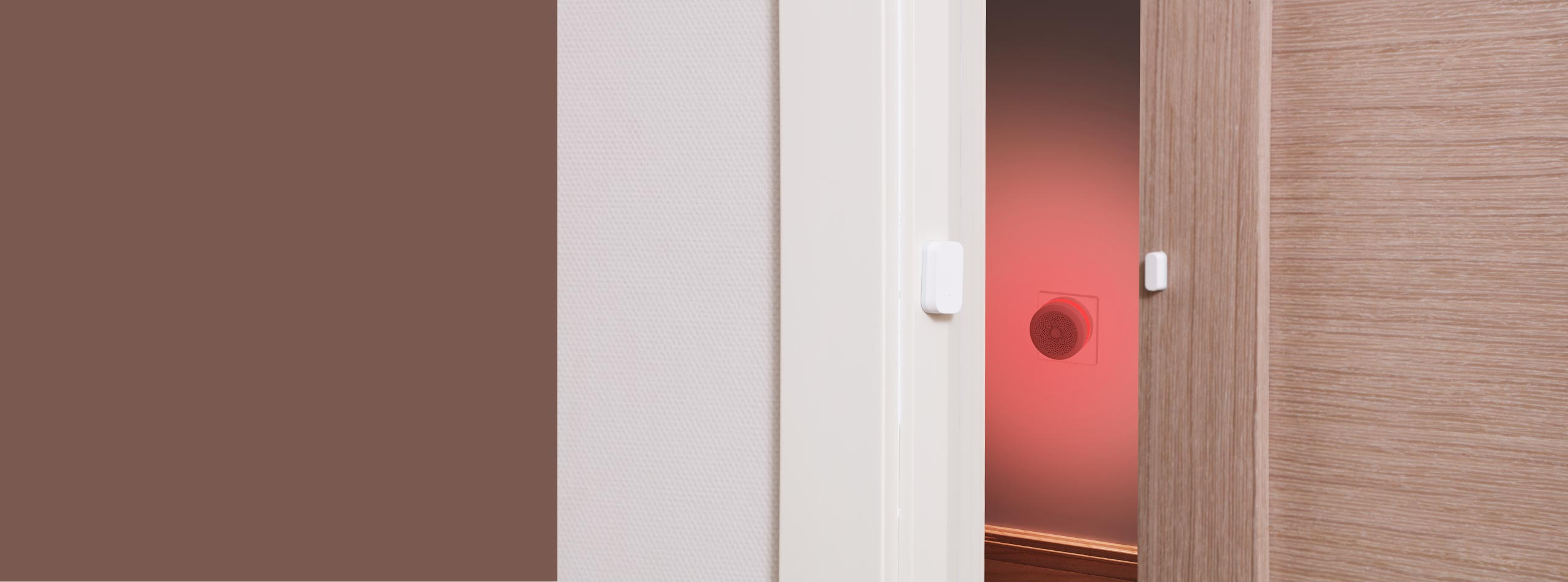 home security with Aqara door sensor