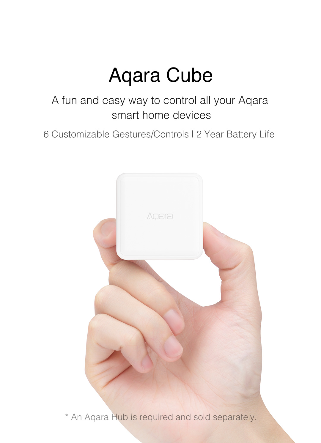 Aqara Cube - A fun and easy way to control your smart home devices