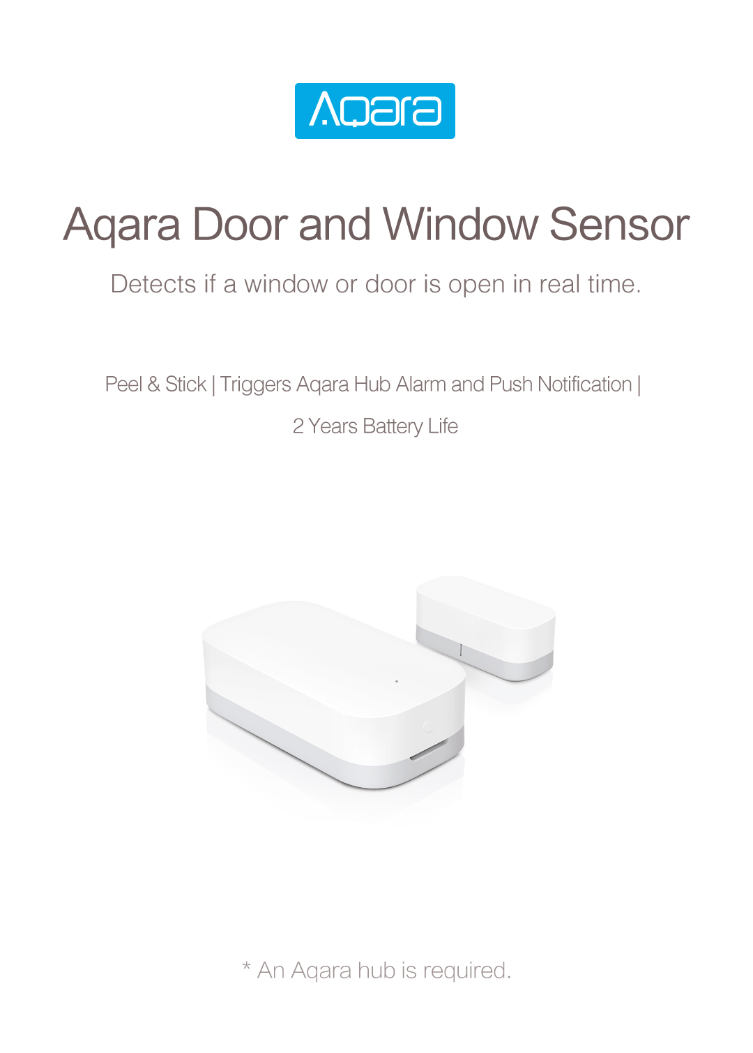 aqara homekit door/window sensor -wireless smart door/window sensor