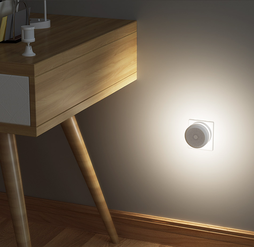 Smart night light with Aqara eu bridge & Aqara motion sensor