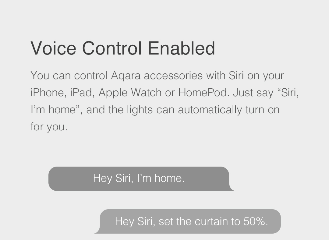 Voice Control Enabled