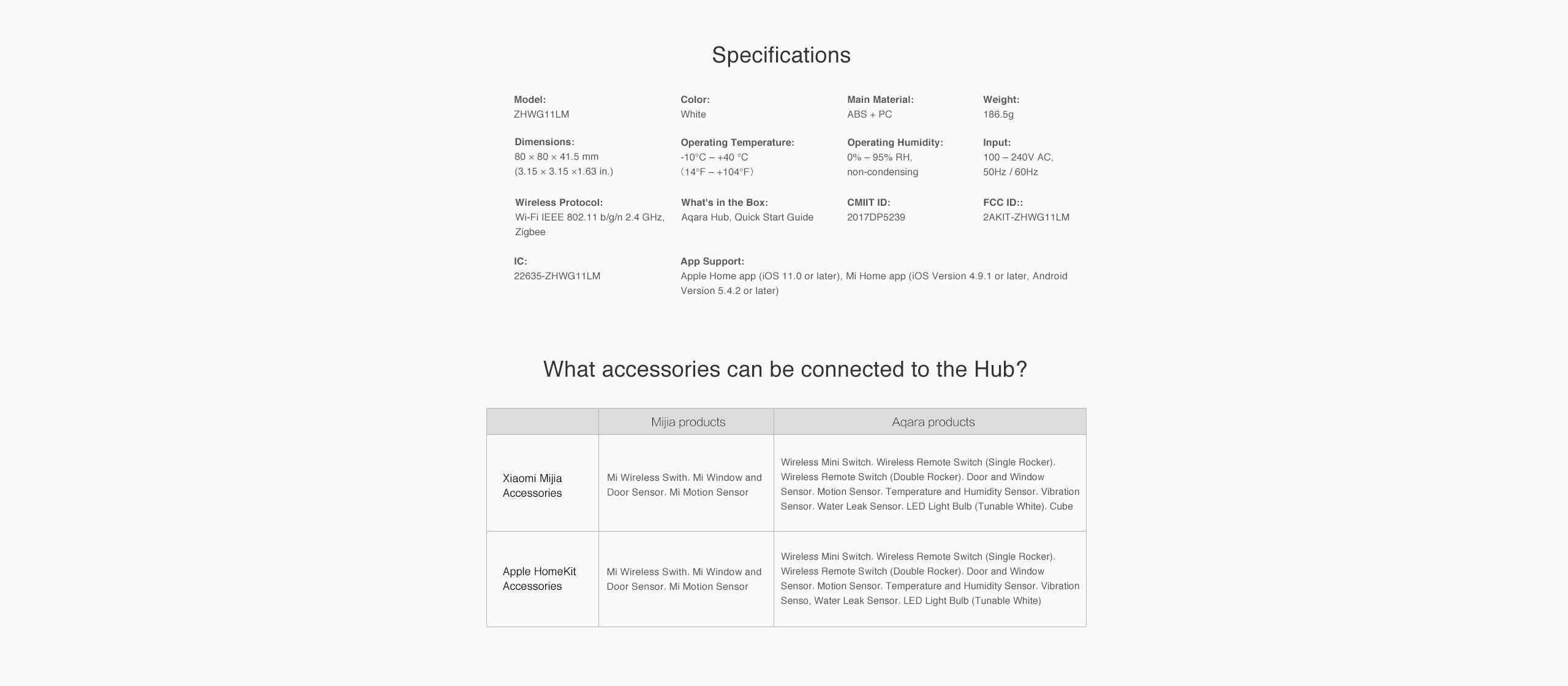 Aqara Hub EU Version - Smart Home Hub & Gateway | Aqara