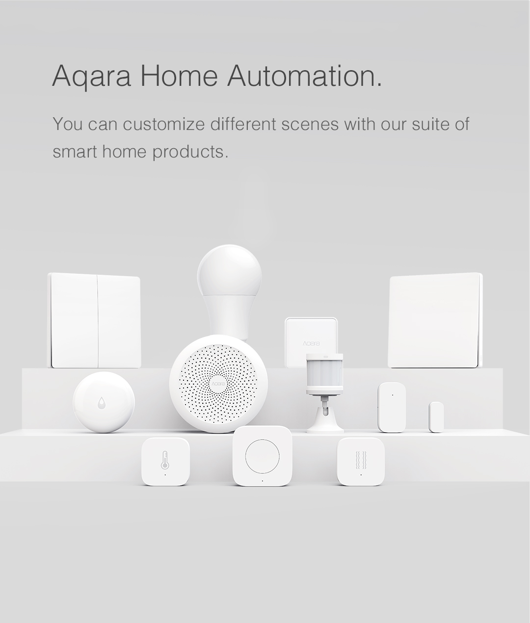 Full range of smart home devices from Aqara
