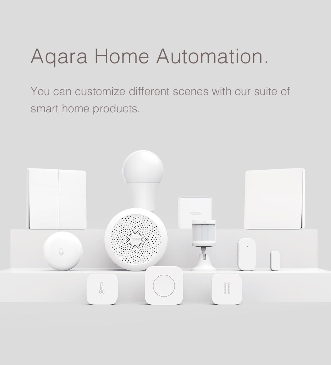 Aqara home automation products