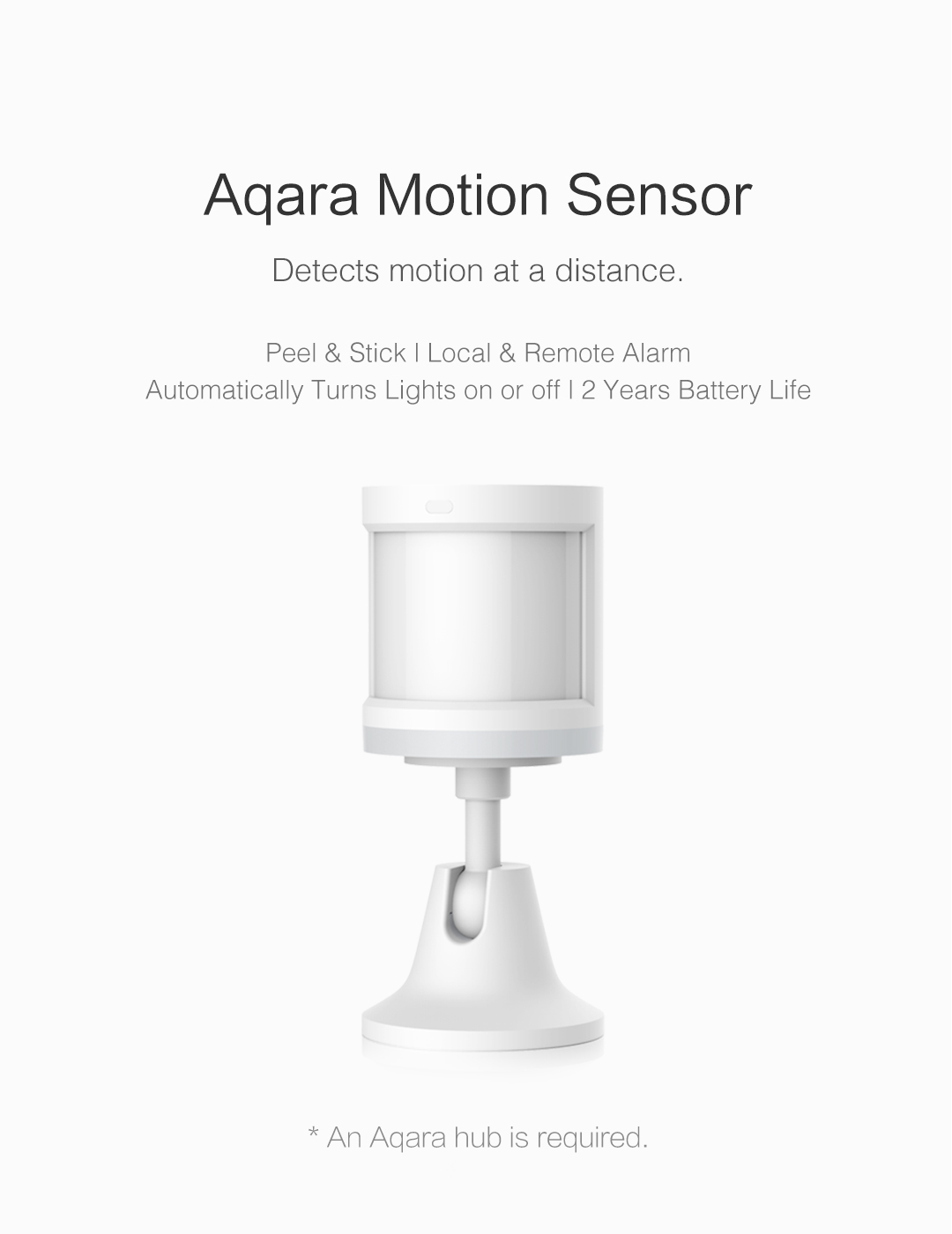 aqara homekit motion sensor - wireless smart motion detector
