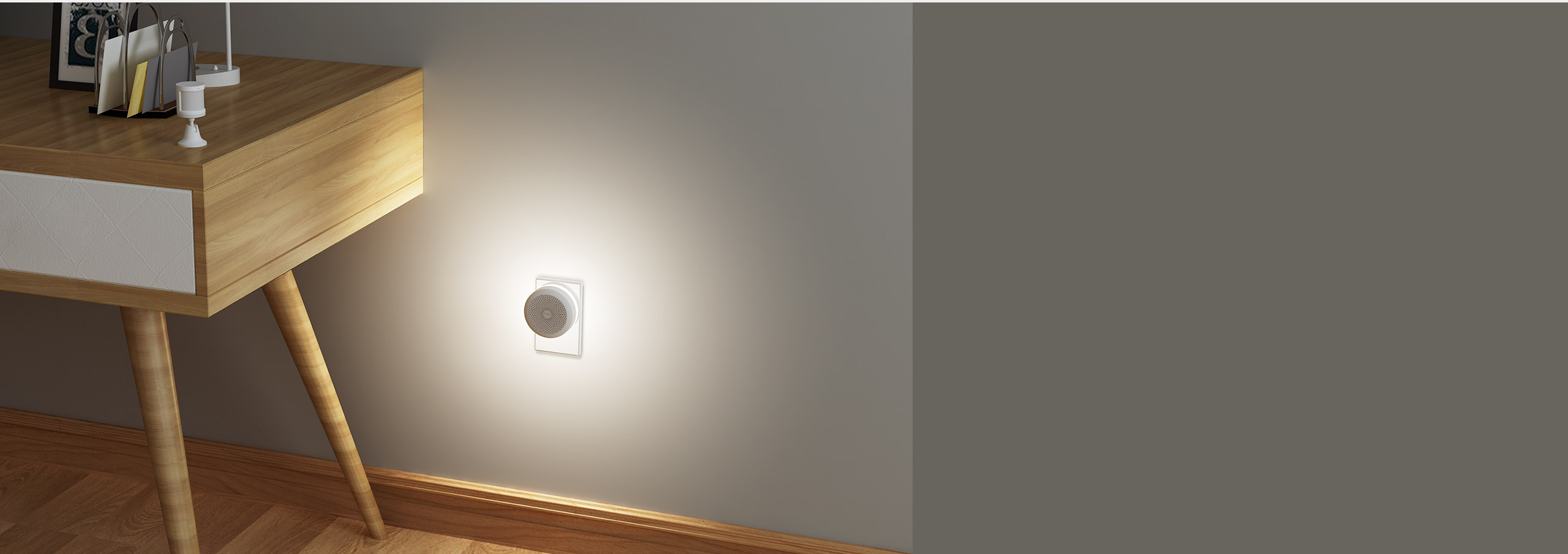 smart night light by using Aqara smart motion sensor and Aqara hub