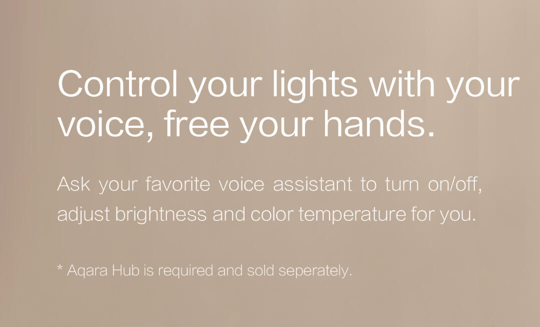 Control Your Aqara Smart Light Bulb with Your Voice, Free Your Hands