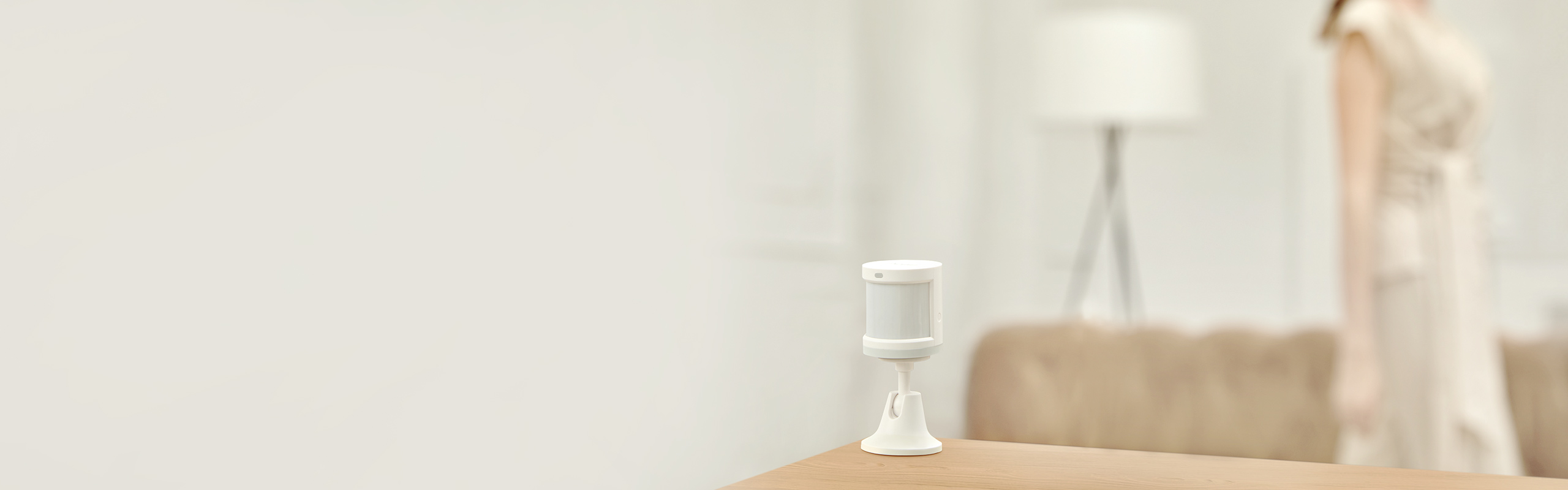 Aqara motion sensor - detects human body and motion in real time.