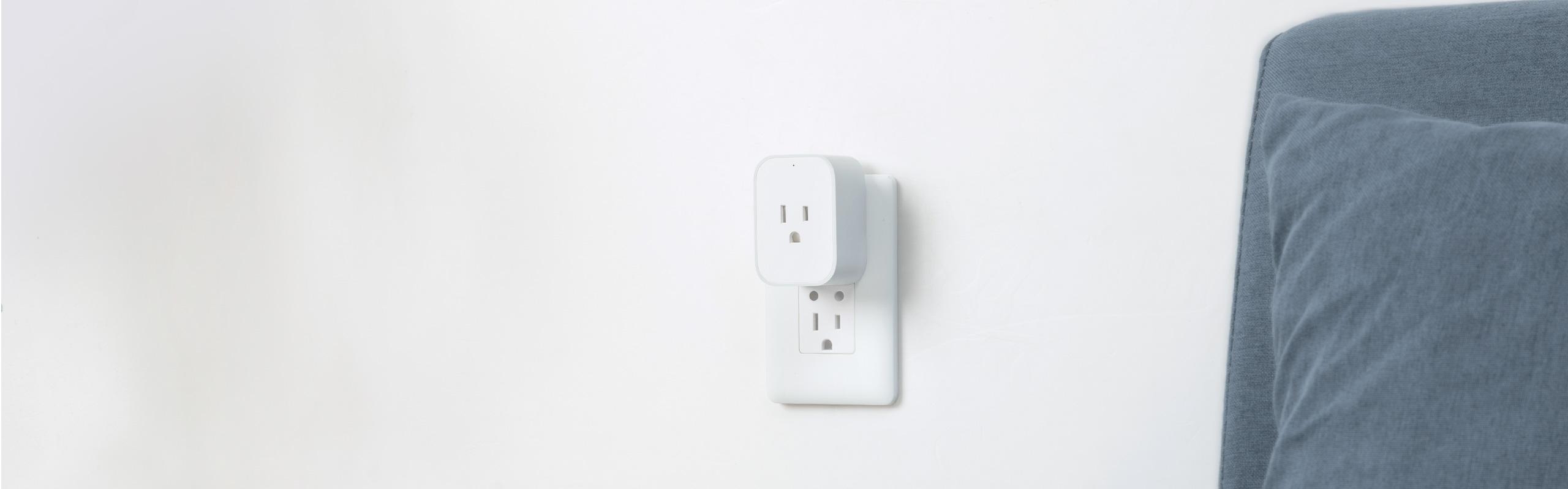 Aqara smart plug - smart outlet/socket working with Google Home, HomeKit and Alexa.