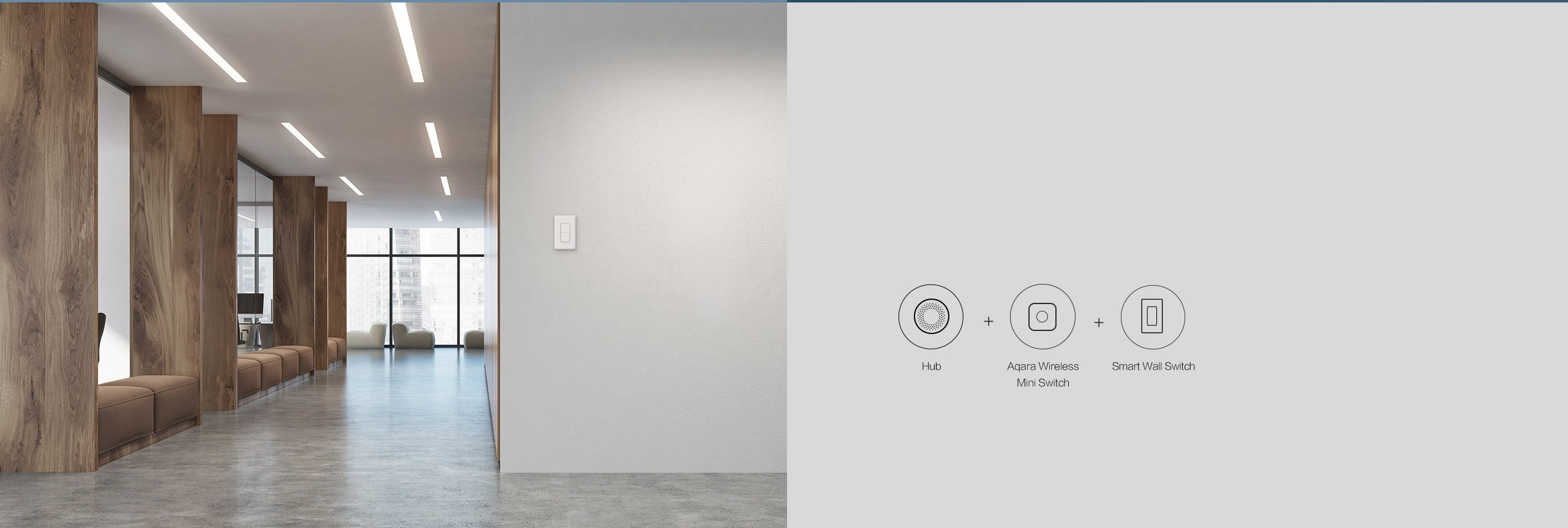 Smart Wall Switch With Neutral - Smart Light Switches | Aqara