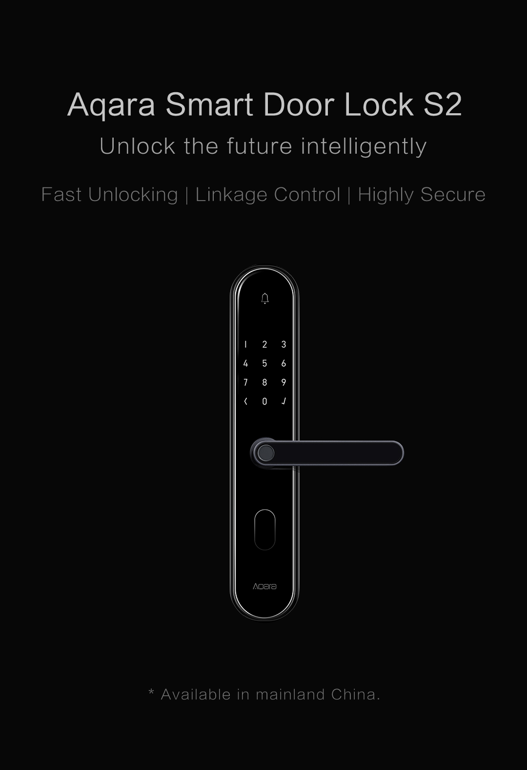 Aqara smart lock S2 - Unlock the future intelligently