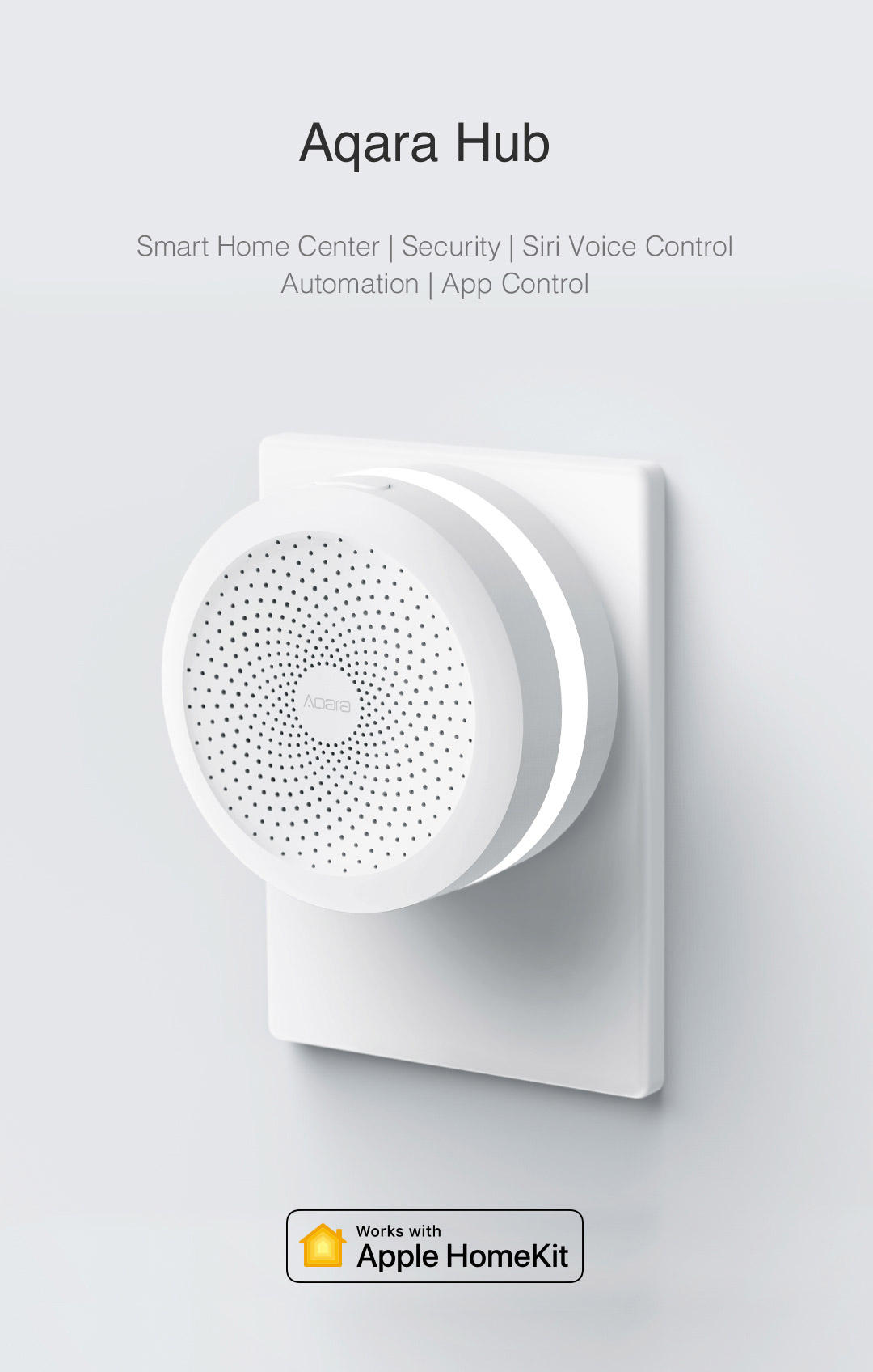 Aqara smart home hub US version - homekit smart home hub