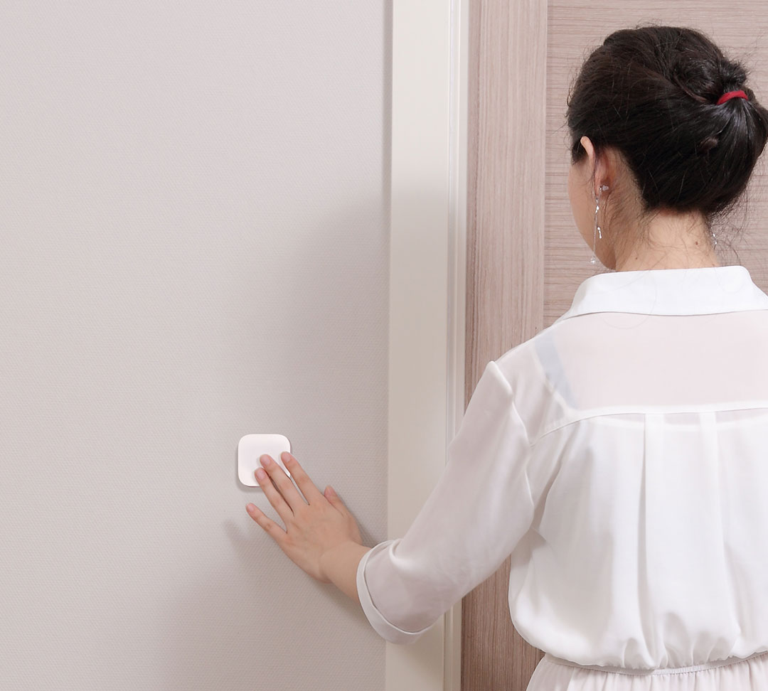 Smart door bell with Aqara homekit bridge & Aqara smart wireless switch