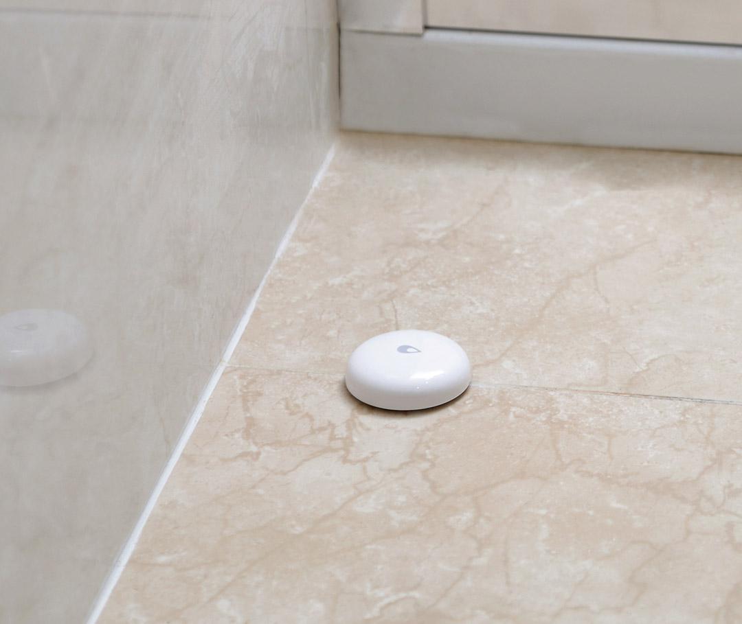 water leak alarm with aqara zigbee hub