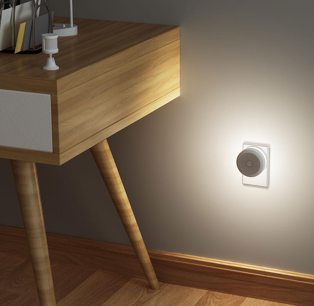 smart home hub works with motion sensor