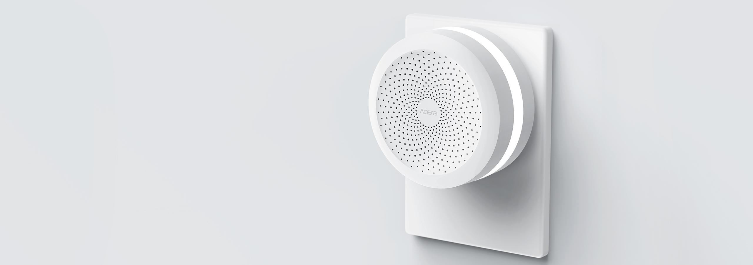 Aqara zigbee smart home hub - works with HomeKit, Google Assistant and Amazon Alexa