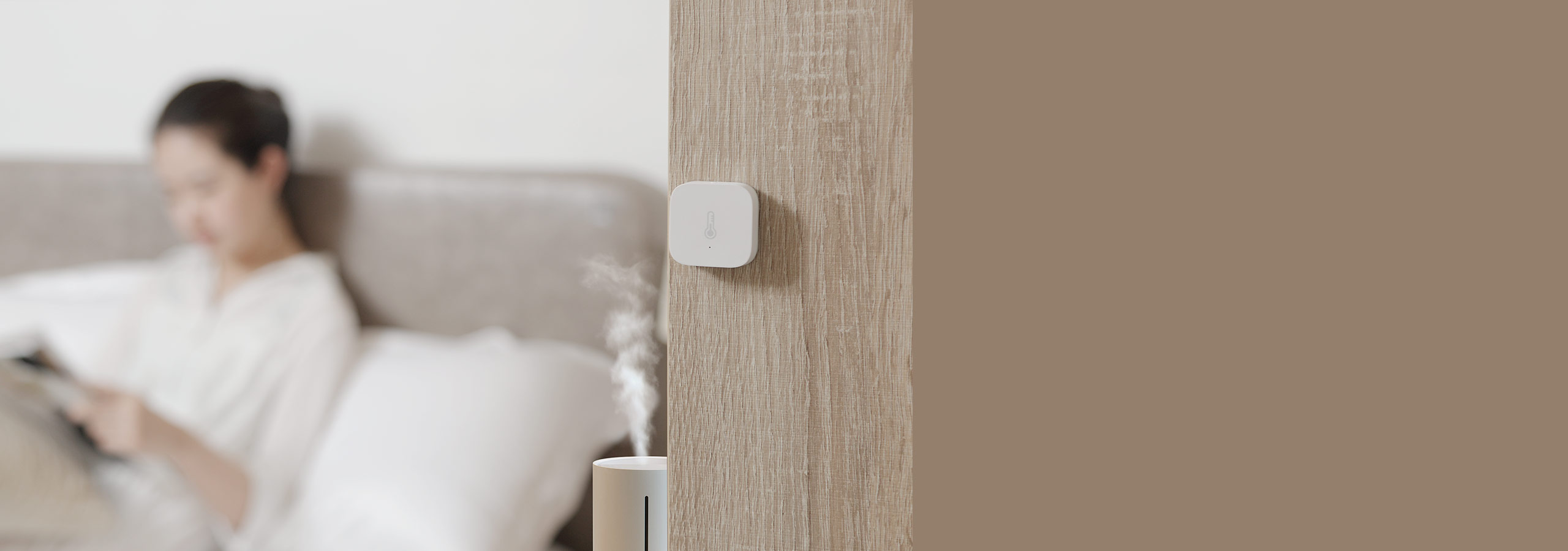 Smart humidity and temperature control with aqara gateway, smart plug and temperature humidity sensor