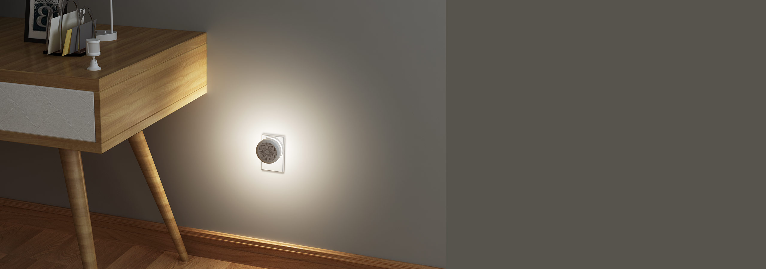 Aqara hub night light with motion sensor