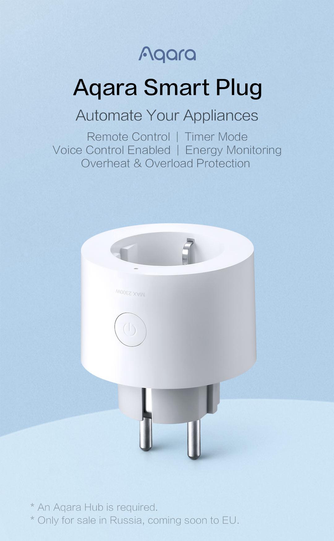 Aqara smart plug US version - homekit/alexa smart plug