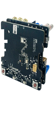 circuit board of Aqara smart wall light switch