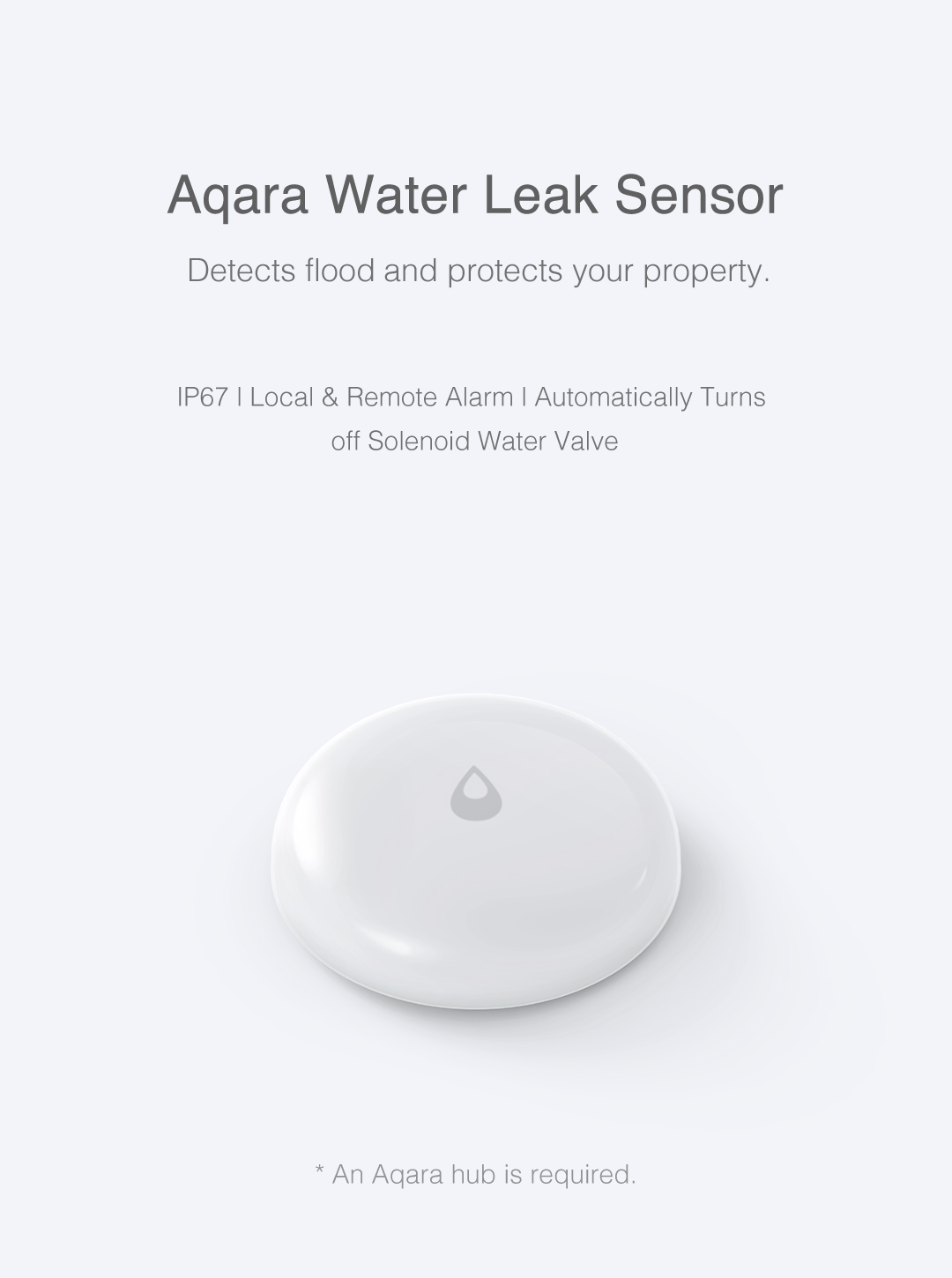 Aqara smart water sensor - wireless water leak detector