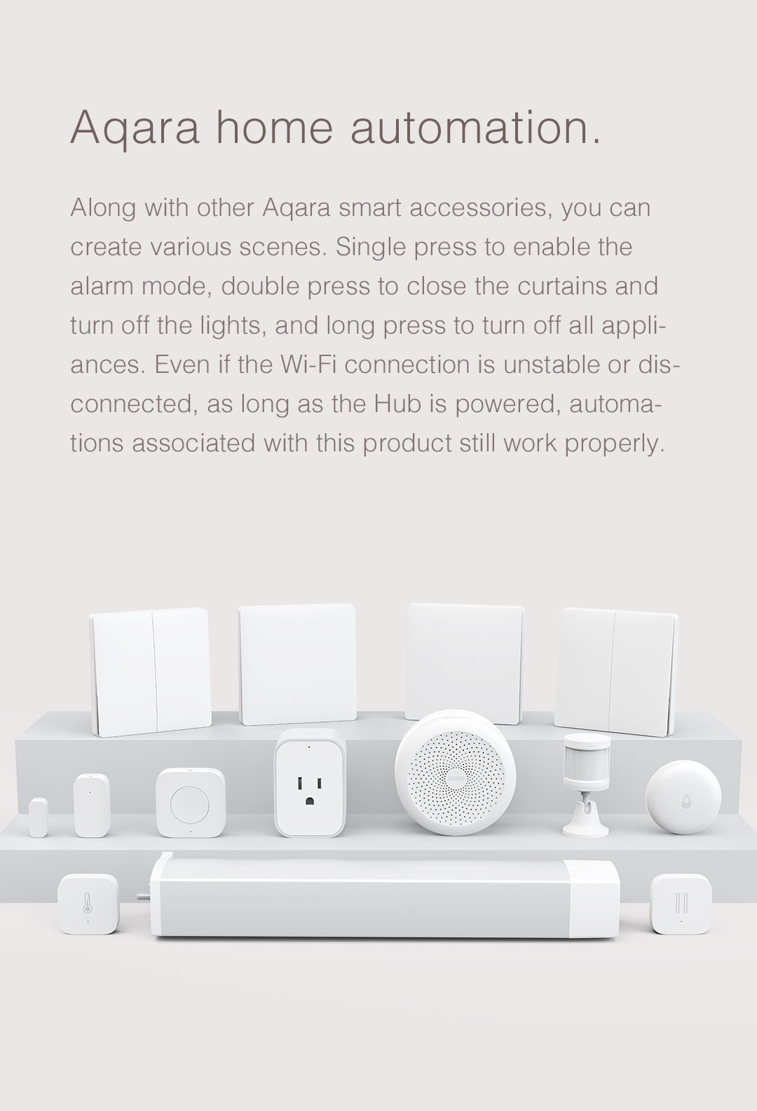 Aqara home automation products