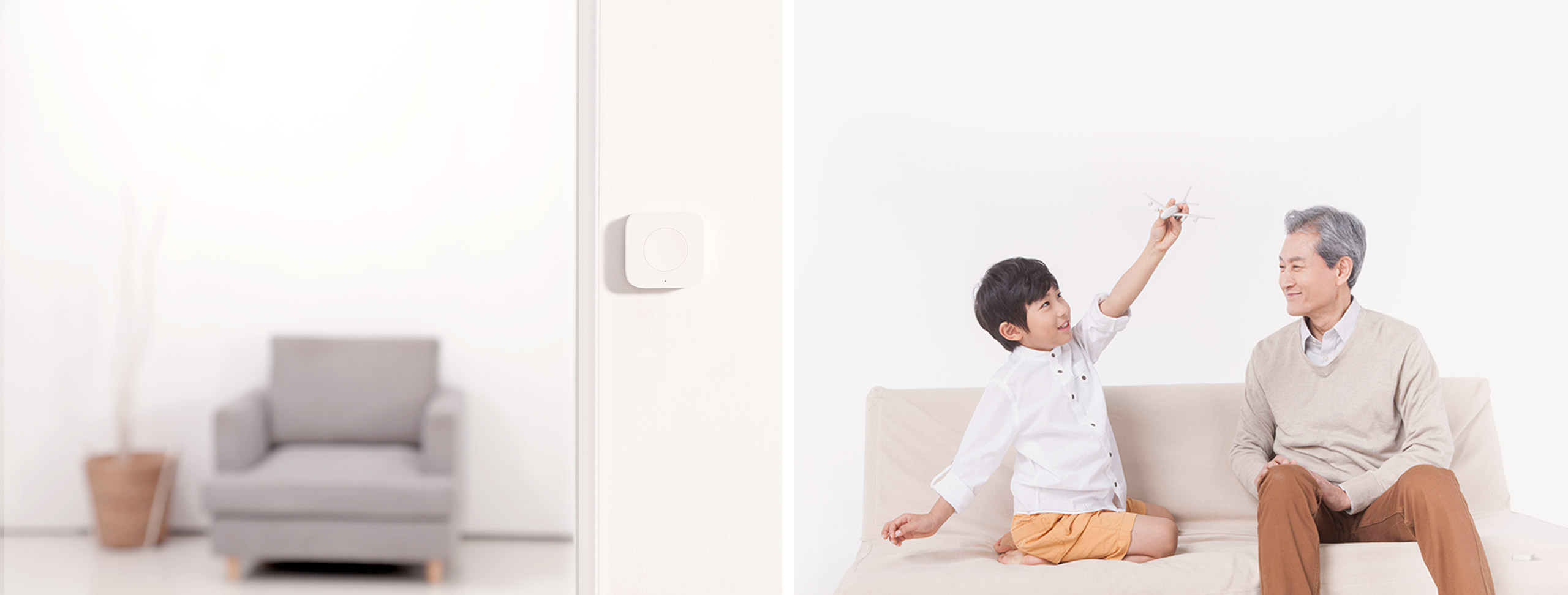 Aqara wireless remote switch as a doorbell or emergency button