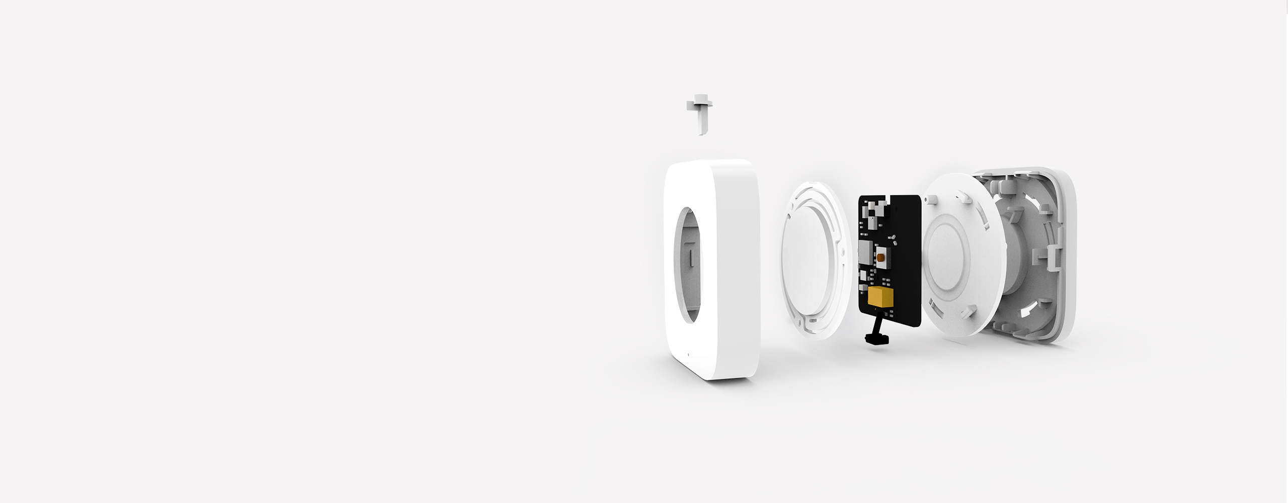 Aqara smart light switch wireless version with compact design and low energy consumption