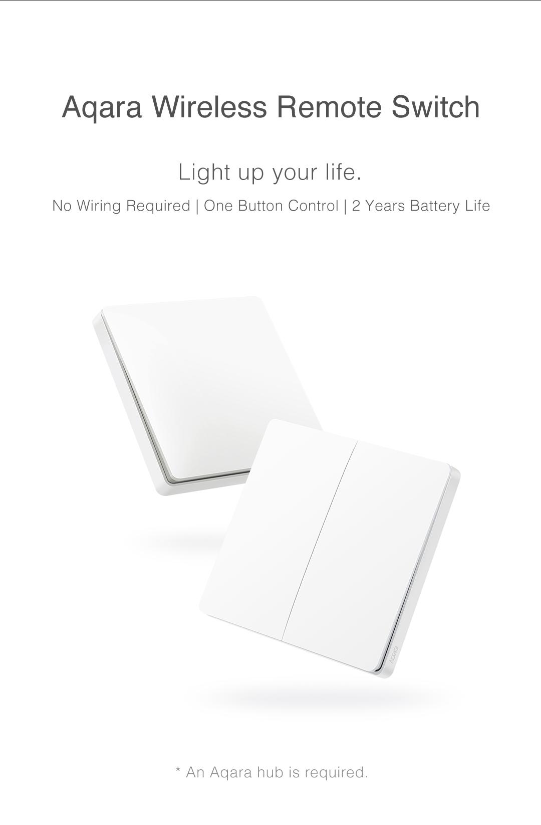 Wireless Remote Light Switch - Smart light switch