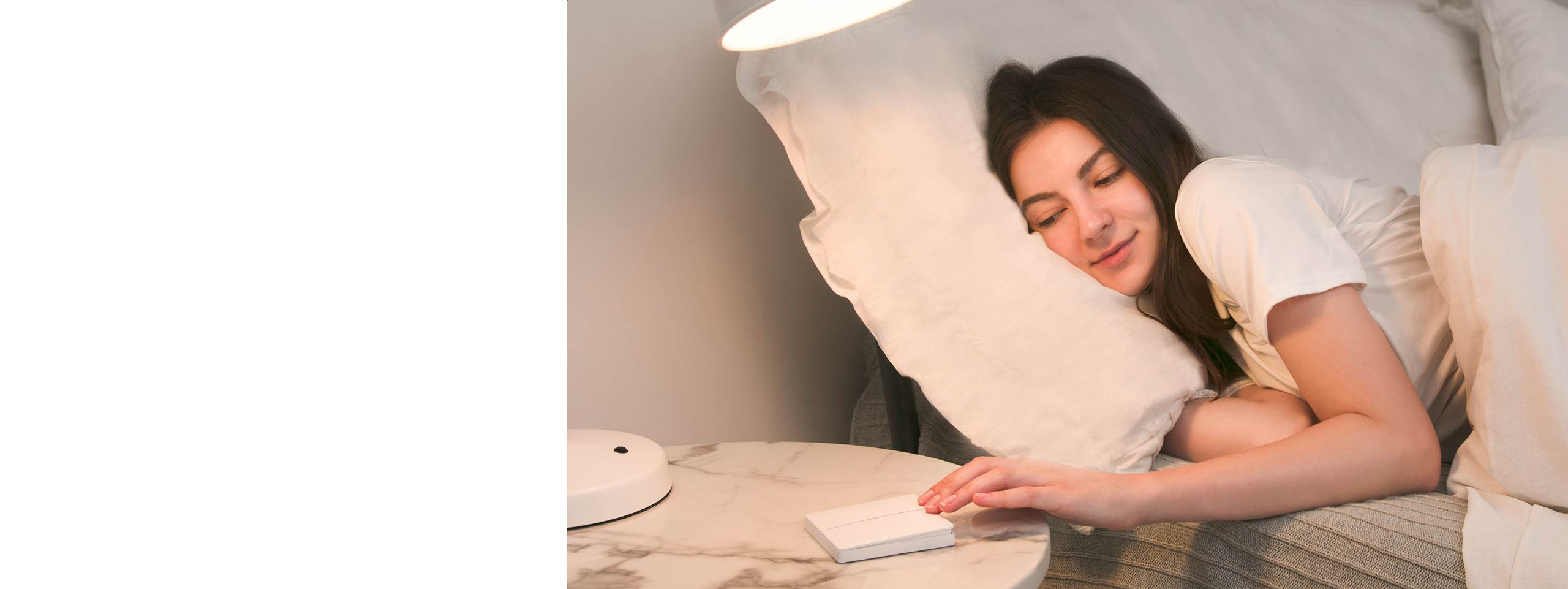 Enter Sleep Mode with a wireless lamp switch