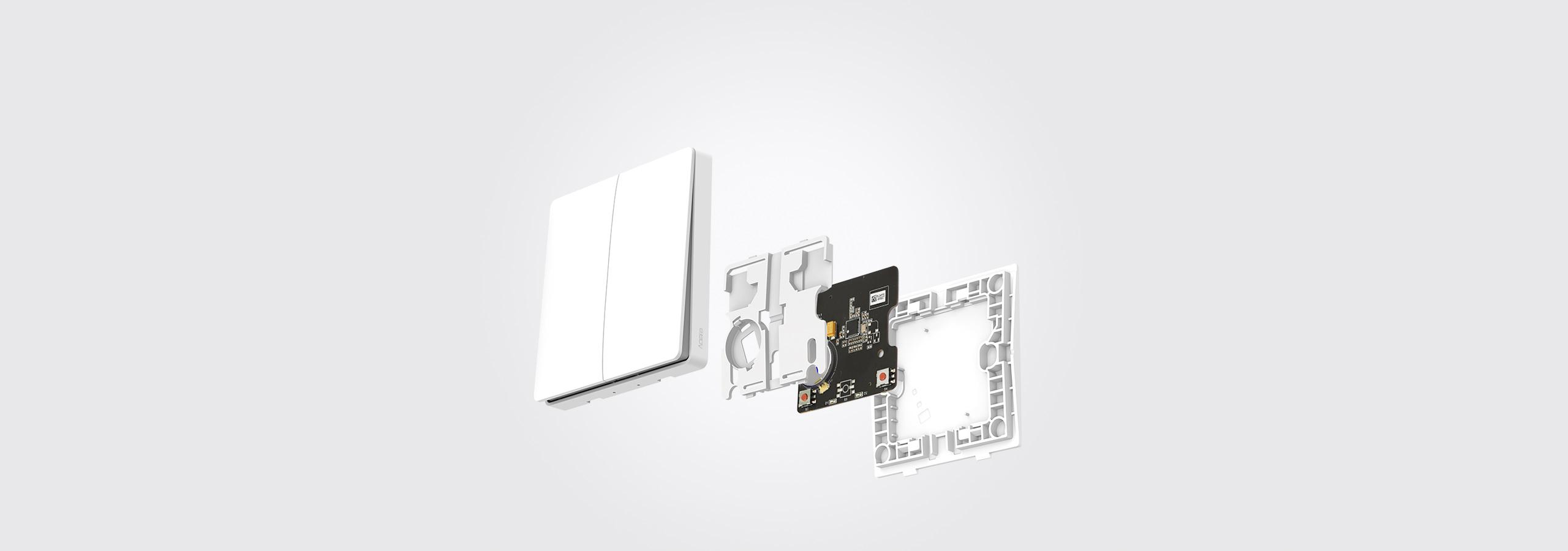 Aqara wireless light switch internal details