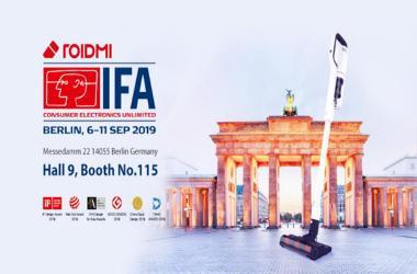 IFA盛会柏林开幕:聚焦无线吸尘器,睿米黑科技革新未来