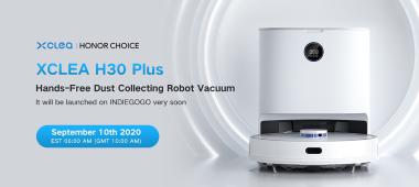 海外众筹开启,清易首款扫地机器人H30 PLUS重磅推出
