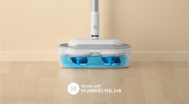 会擦地,还能自动洗拖布?清易无线擦地吸尘器天猫开售!