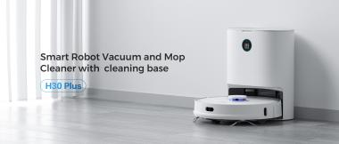 """New products on sale! HUAWEI MALL tests XCLEA H30 plus, a sweeping robot that can """"take out garbage by itself"""