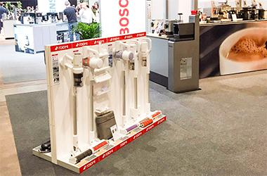 ROIDMI showcases at the New Home Fair in Zürich Switzerland